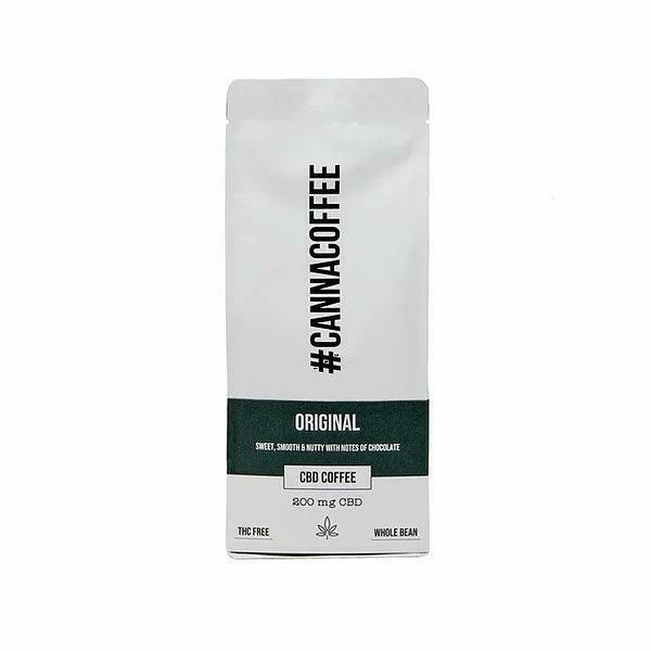 Cannacoffee 200mg CBD Original CBD Whole Bean Coffee