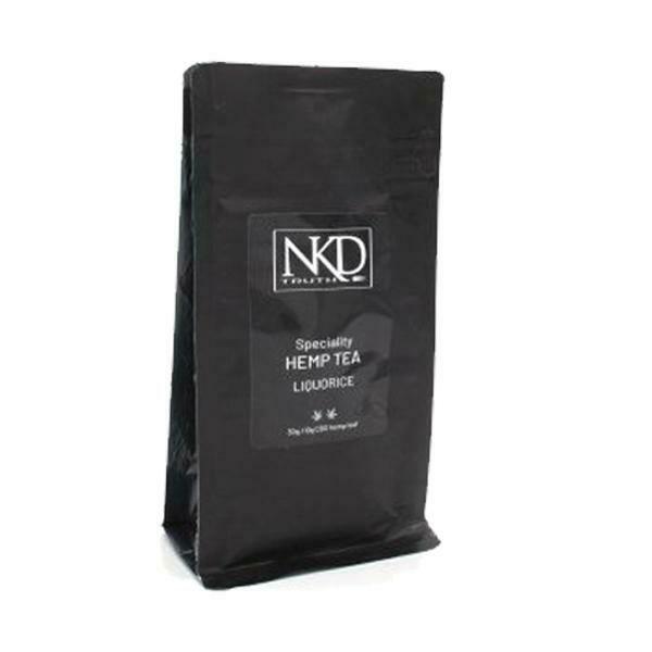 NKD 10mg CBD Wellness Tea - 40g   Peppermint