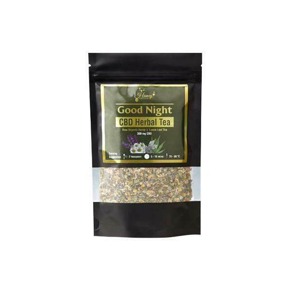 Honey Heaven 300mg CBD Loose Leaf Herbal Tea 50g - Good Night