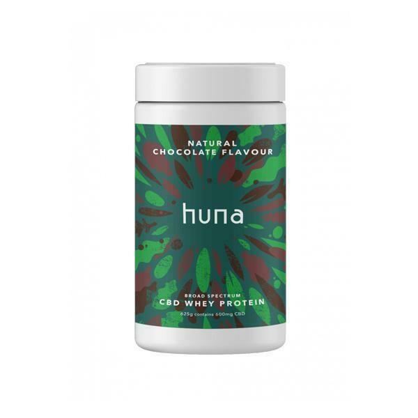 Huna Labs 600mg CBD Whey Protein Powder 625g