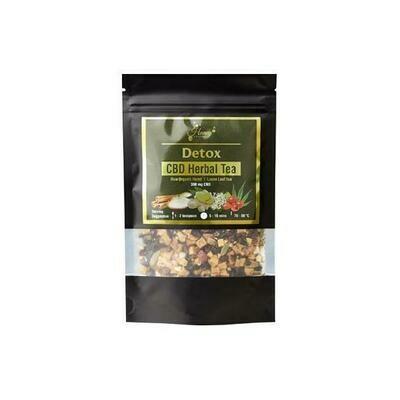 Honey Heaven 300mg CBD Loose Leaf Herbal Tea 50g - Detox
