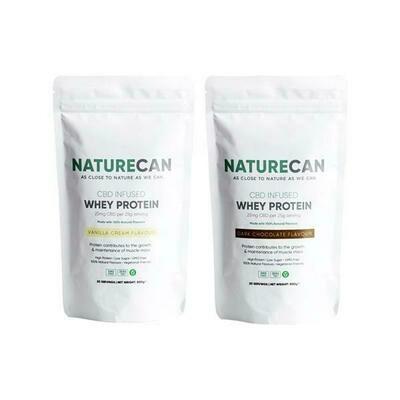 Naturecan 500mg CBD Protein Powder 500g   Vanilla