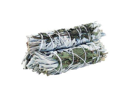 Smudge Stick - White Sage & Peppermint 10cm