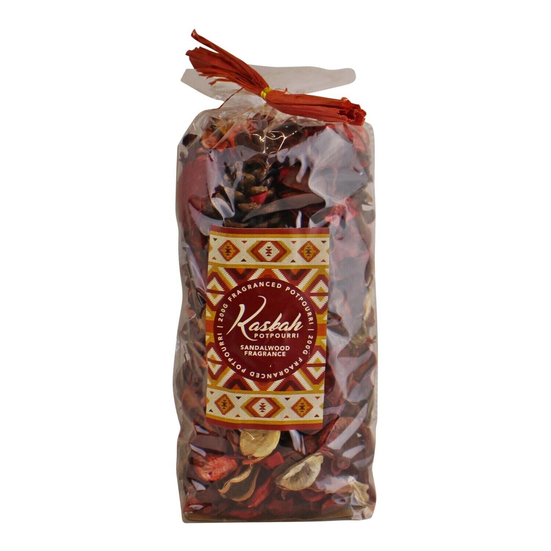 Kasbah Potpourri, Sandalwood Fragrance, 200g