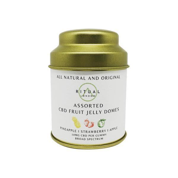Ritual London 150mg CBD Vegan Fruit Jelly Domes
