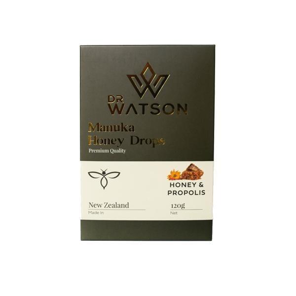Dr Watson Manuka Honey Drops 120g (non-CBD)  Honey with Propolis