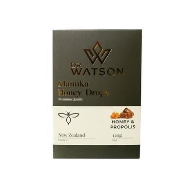Dr Watson Manuka Honey Drops 120g (non-CBD)  Ginger & Echinacea:
