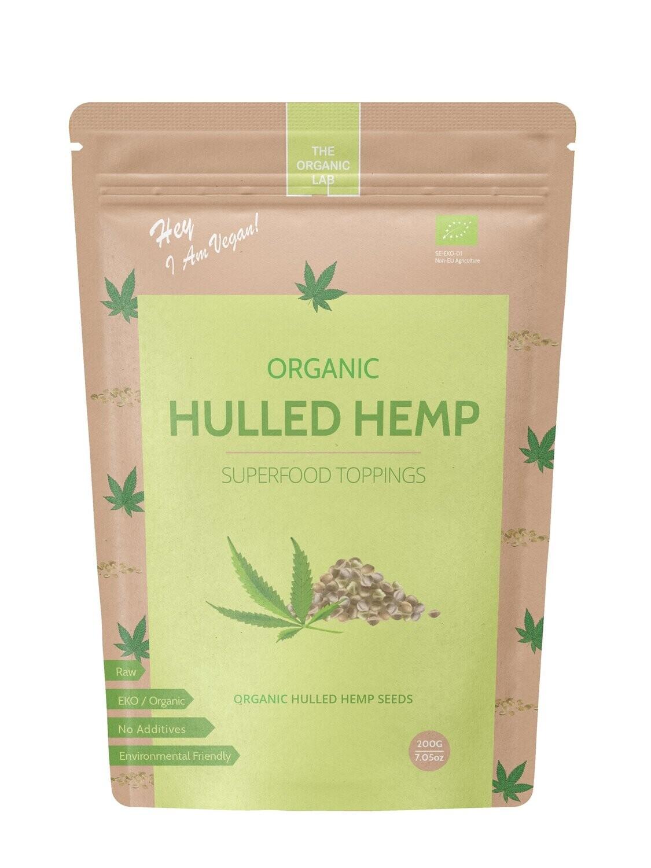 Organic Hemp Hulled Seeds 150g