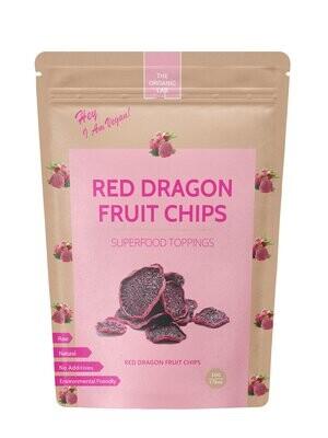 Organic Dragon Fruit Chips 50g