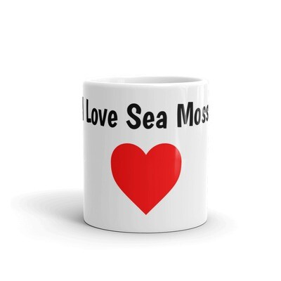I Love Sea Moss mug