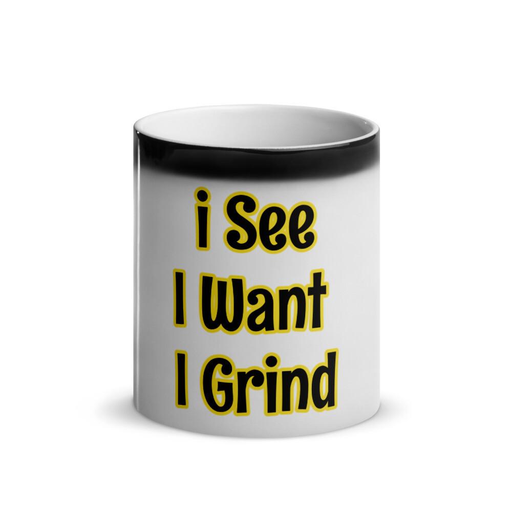 I see i want i Grind Mug
