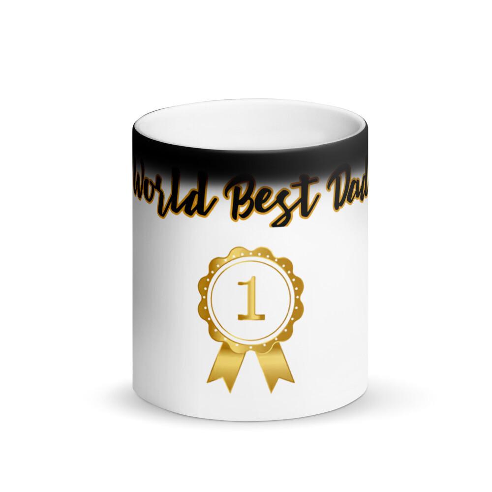 Worlds Best Dad Matte Mug