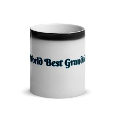 Worlds Best Grandad Glossy Magic Mug