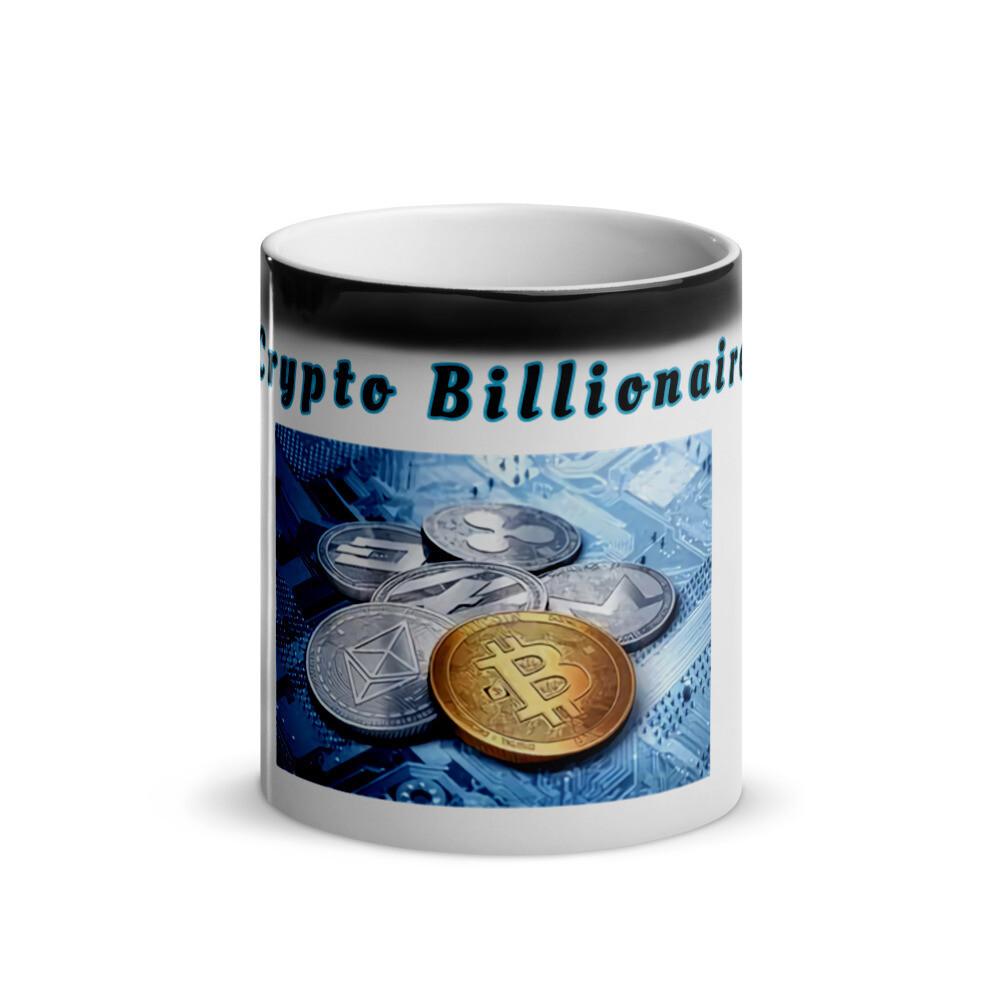 Crypto Billionaire Glossy Mug