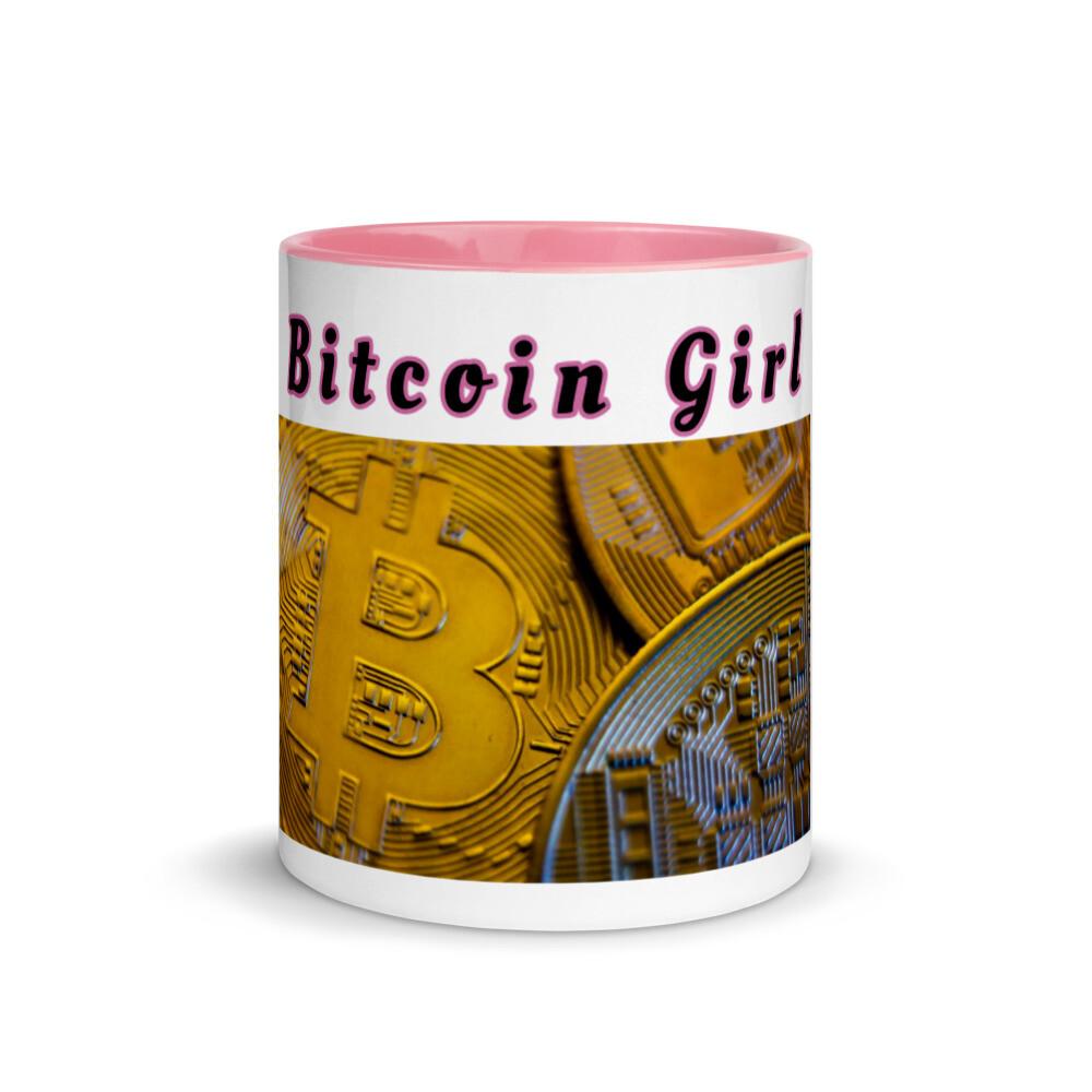 Bitcoin Girl Mug