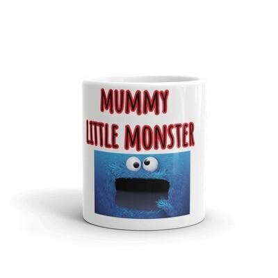 Mummy Little Monster kids mug
