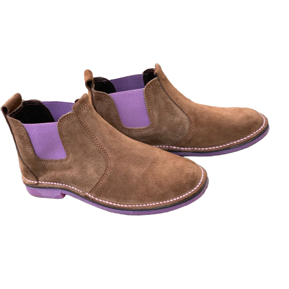 Urban Chelsea Boots (Pink)
