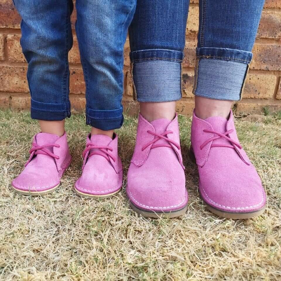 Farmer's Vellies (Pink )