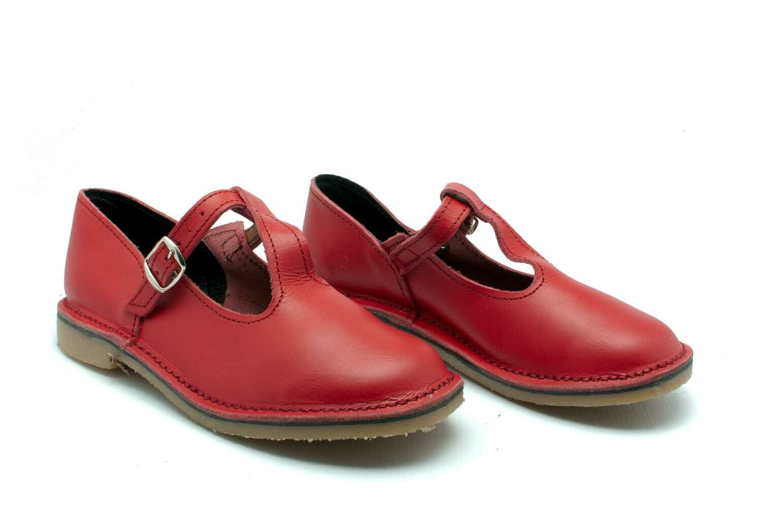 TBar Vellies (Red)