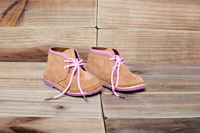 Baby City Vellies (Pink Version)