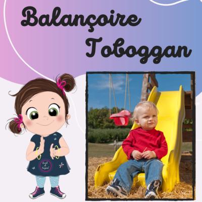 Balançoire, toboggan