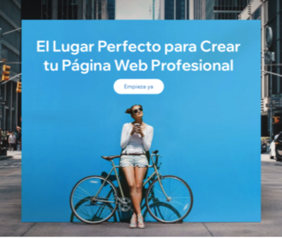 SITIO WEB PACK WIX
