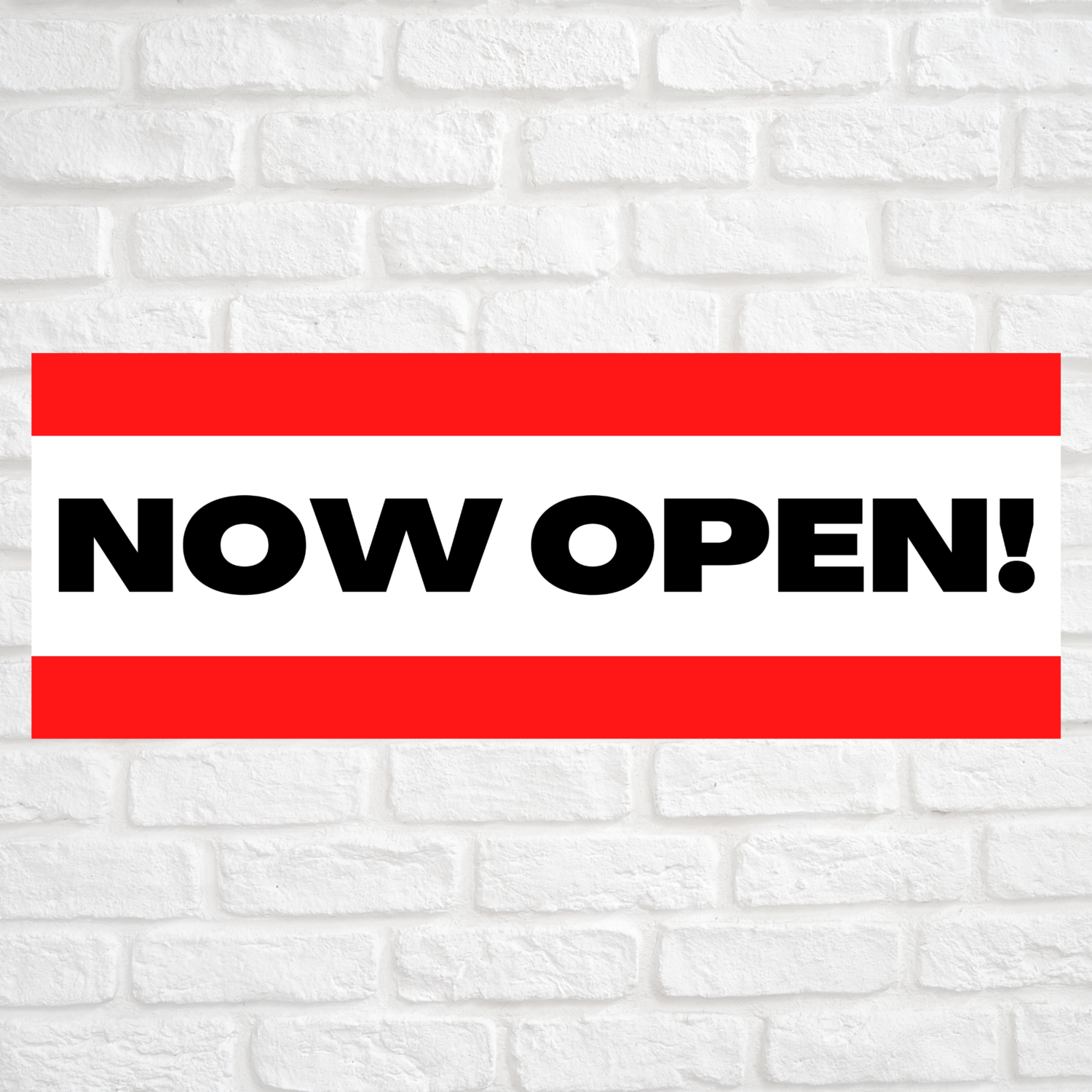 Now Open! Red/Red