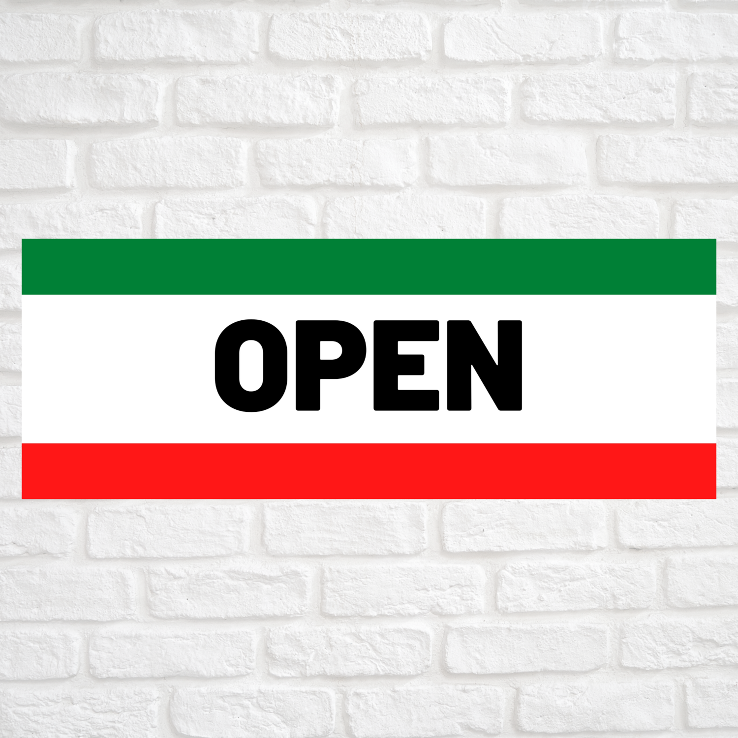 Open Green/Red