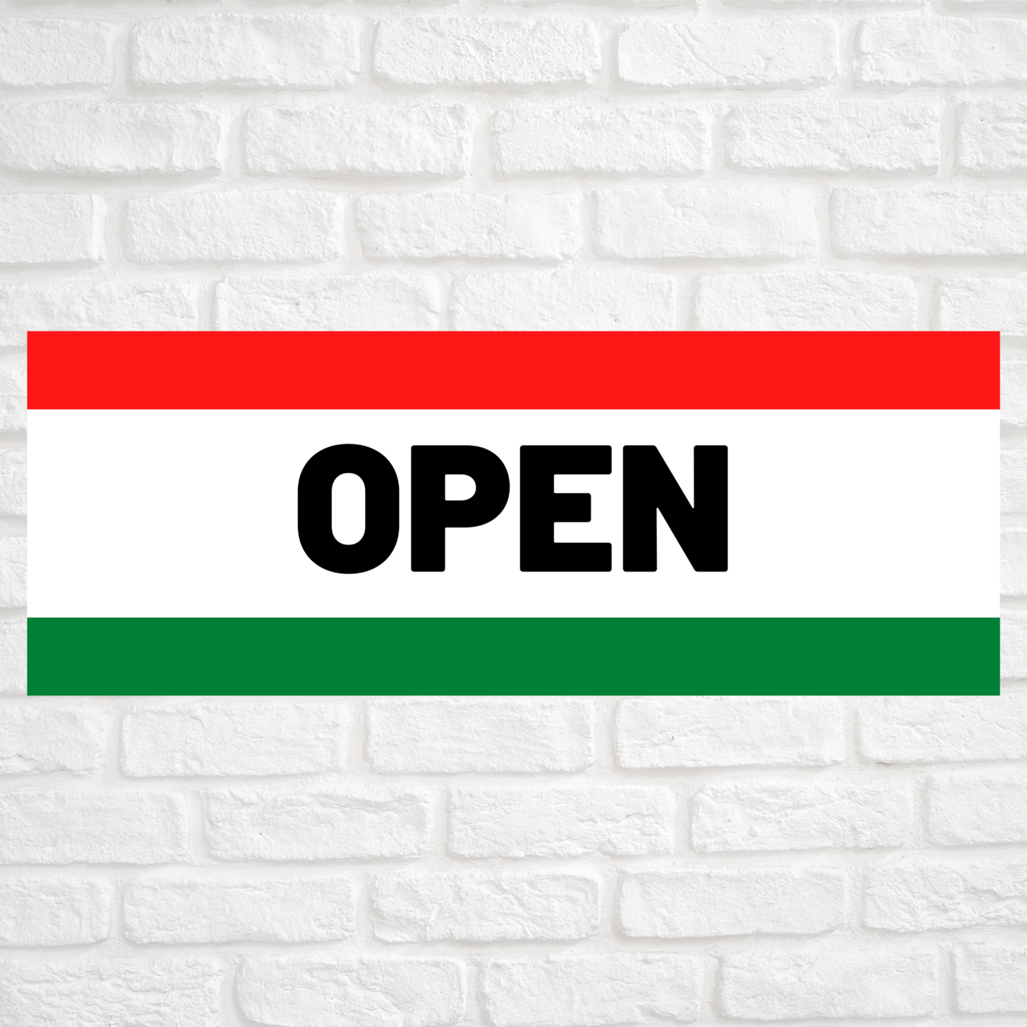 Open Red/Green