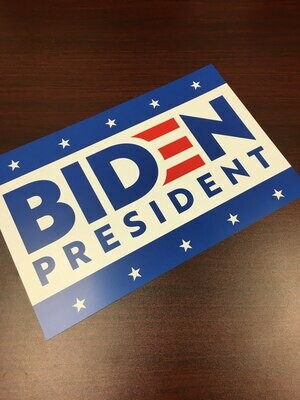 Biden President 2020 11x17 Window Poster Campaign Rally Sign BlueBlue