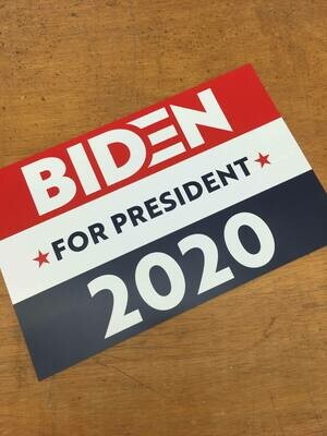 Joe Biden For President 2020 11x17 Window Poster Campaign Rally Sign RedBlue