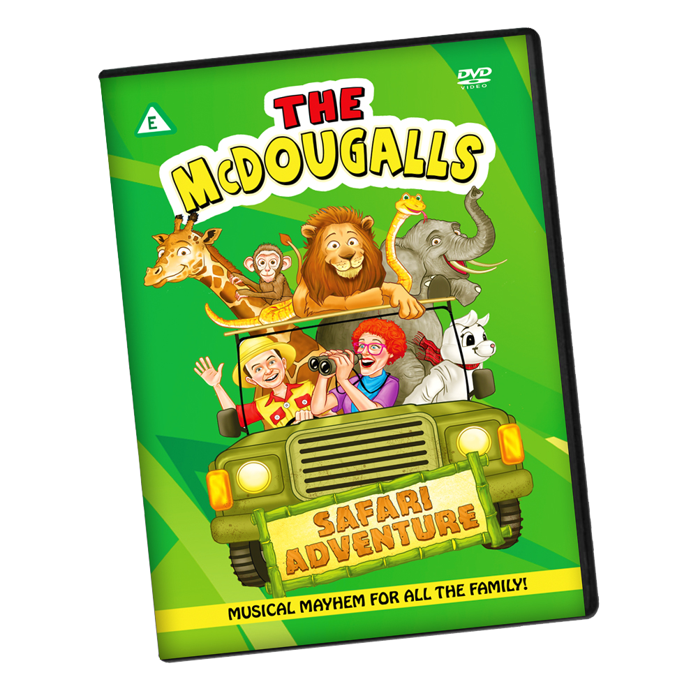 Safari Adventure Live Show DVD + CD