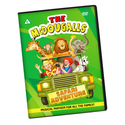 Safari Adventure Live Show DVD