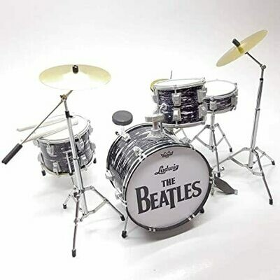 Beatles - Batteria In Miniatura