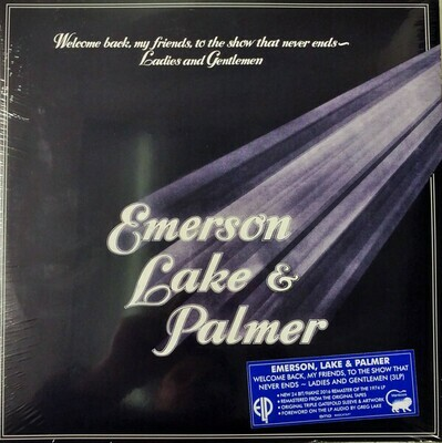 Emerson, Lake & Palmer - Welcom Back, My Friends, To The Show That Never Ends, Ladies And Gentlemen