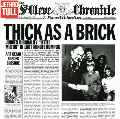 Jethro Tull - Thick As A Brick (The 2012 Steven Wilson Stereo Remix)