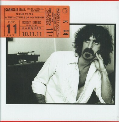 Zappa Frank & The Mothers Of Invention - Carnagie Hall