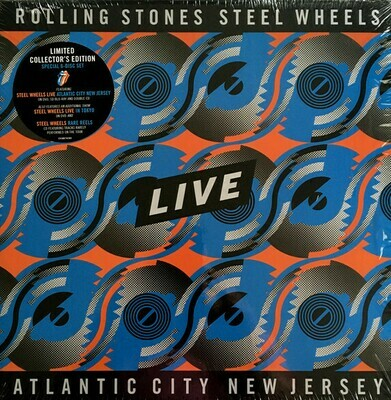 Rolling Stones - Steel Wheels Live Atlantic City New Jersey (Limited Collector's Edition)