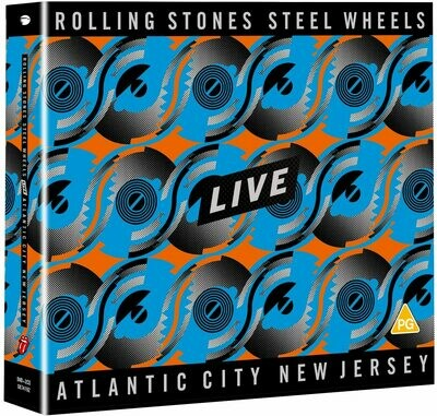 Rolling Stones - Steel Wheels Live Atlantic City New Jersey (2 CD + Blu-ray)