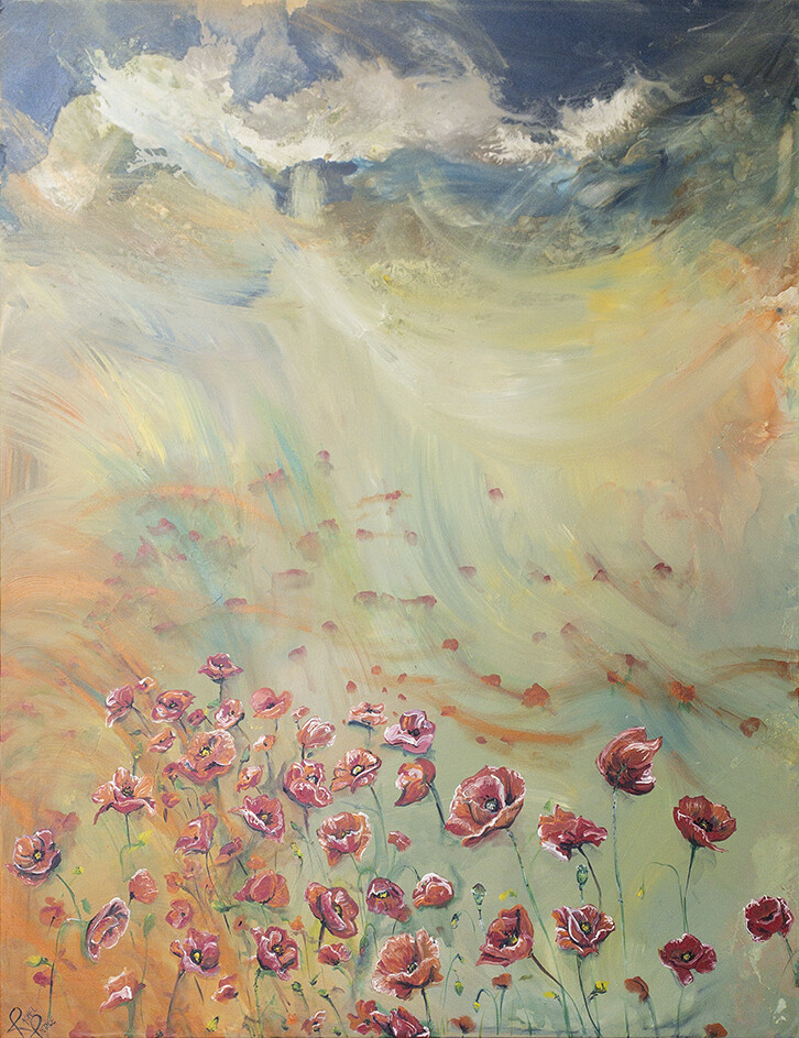 Poppies by Poppies print