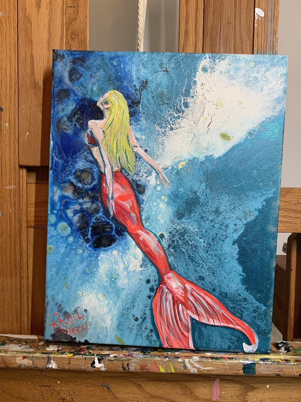 Pink Tail Mermaid