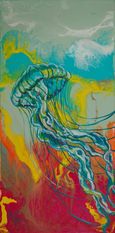 Tres Medusa Right print