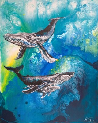 By the Humpbacks print