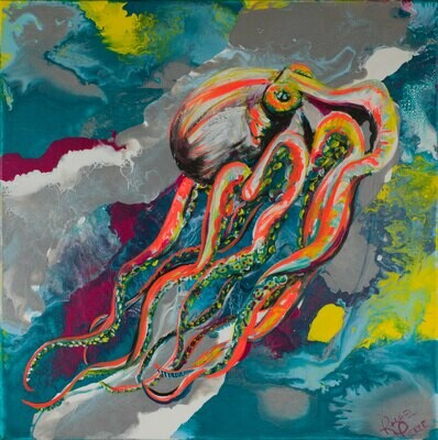 Dayglow Octopus