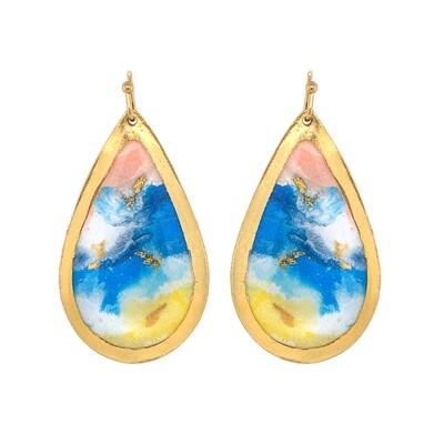 Abstract Shore Earrings