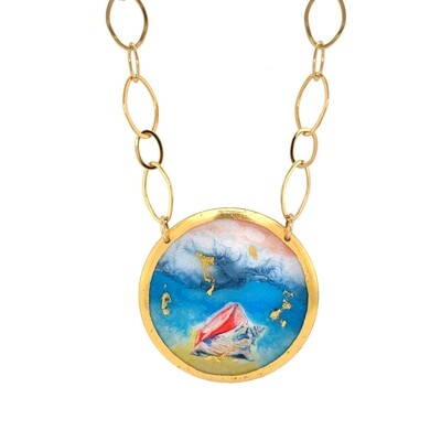 Conch Gold Necklace