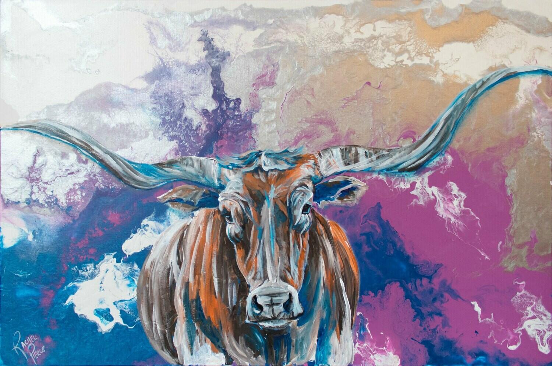 Longhorn print