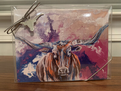 Longhorn Greeting Cards