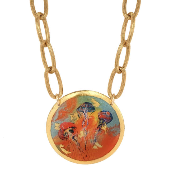 Hot Jellies Gold Necklace