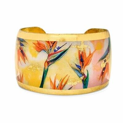 Bird of Paradise Gold Cuff